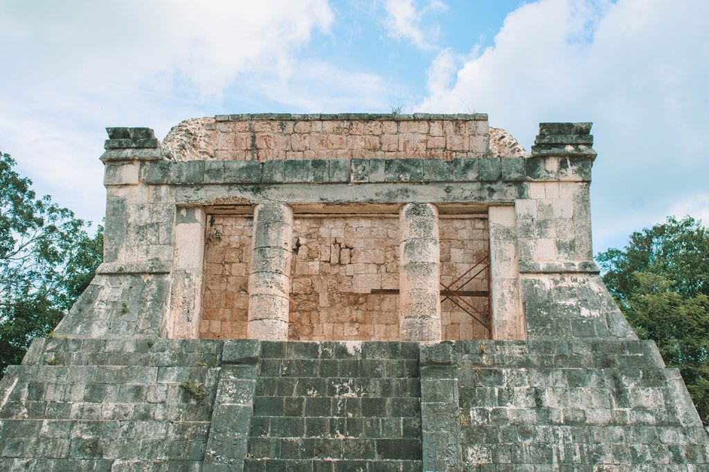 Mayan ruins at Chichen Itza