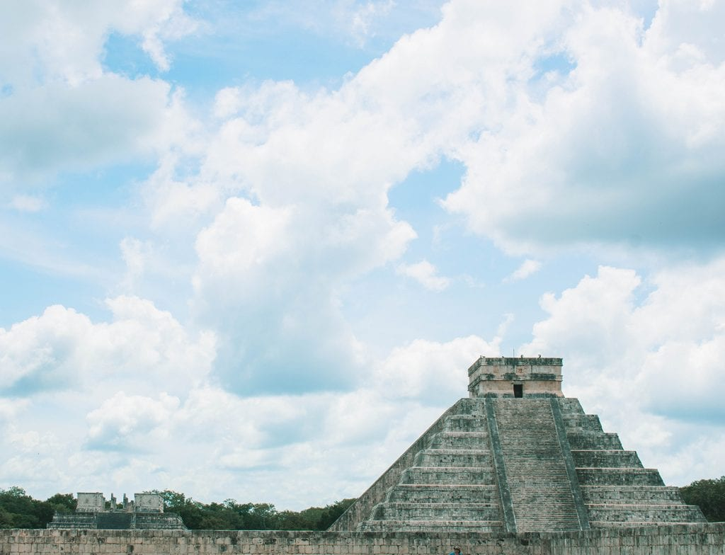 The Mayan ruins at Chichen Itza