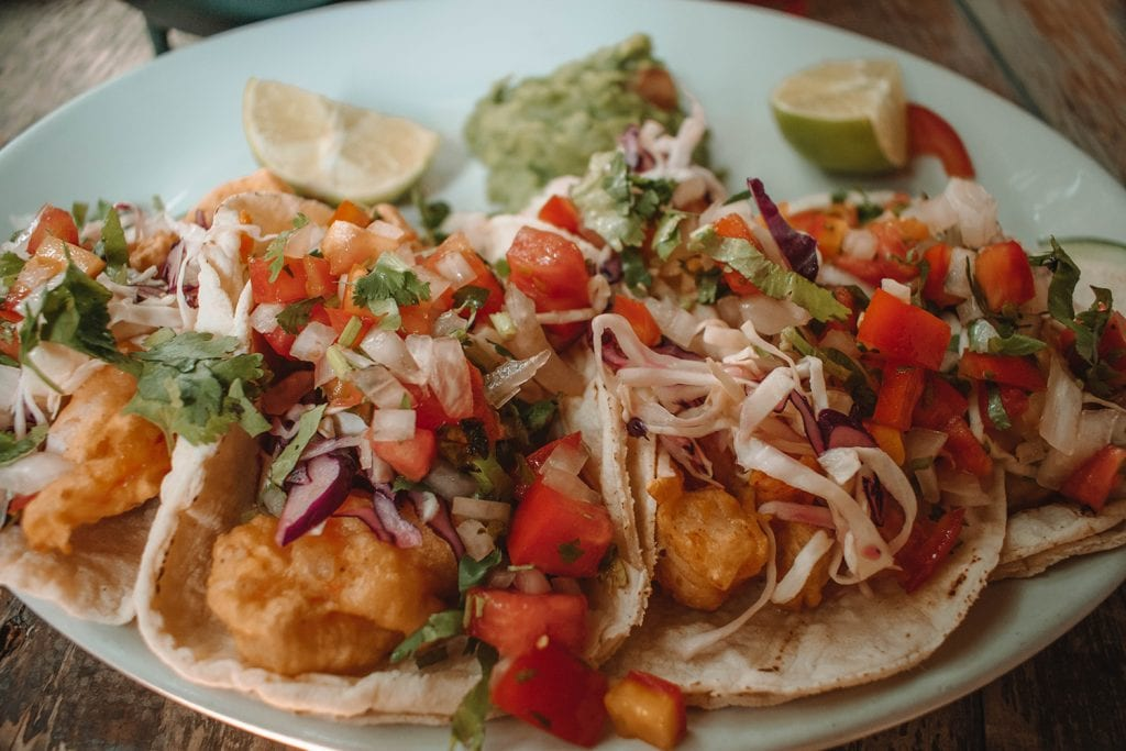 Delicious fish tacos, one of the best signature dishes around the world