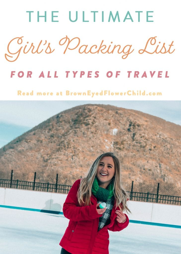 The Ultimate Packing List for all Types of Travel