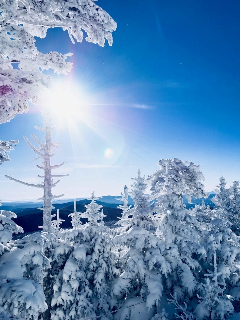 Winter wonderland activities in Mount Snow, Vermont