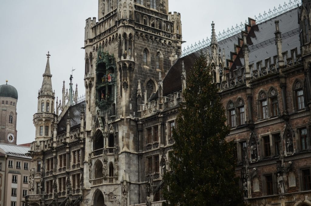 Christmastime in Munich, Bavaria, Germany