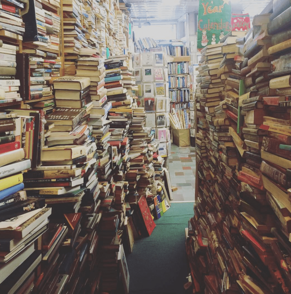A bookstore in New York City