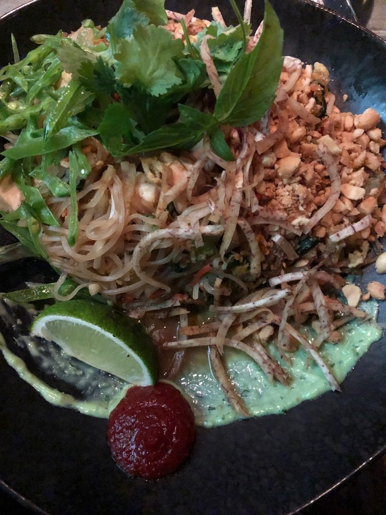 Pad Thai from Linger in Denver, Colorado