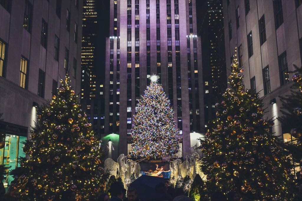 Rockefeller Center in Manhattan