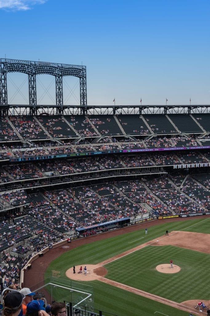 A ball game in New York City