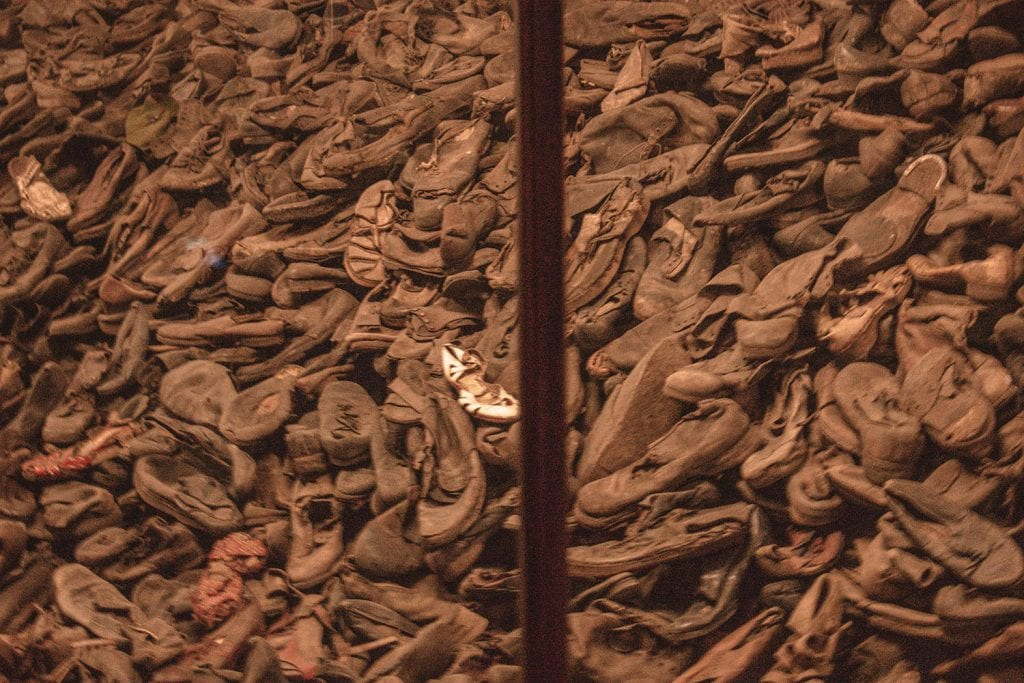Shoes from Auschwitz Birkenau
