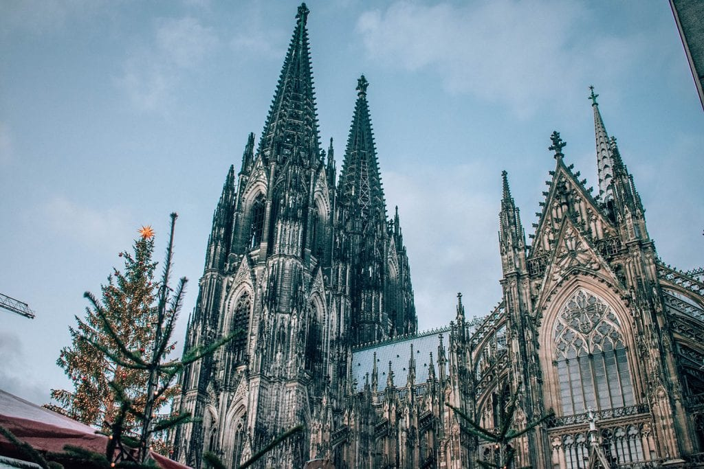 The Dom Cathedral at the Cologne Christmas Markets
