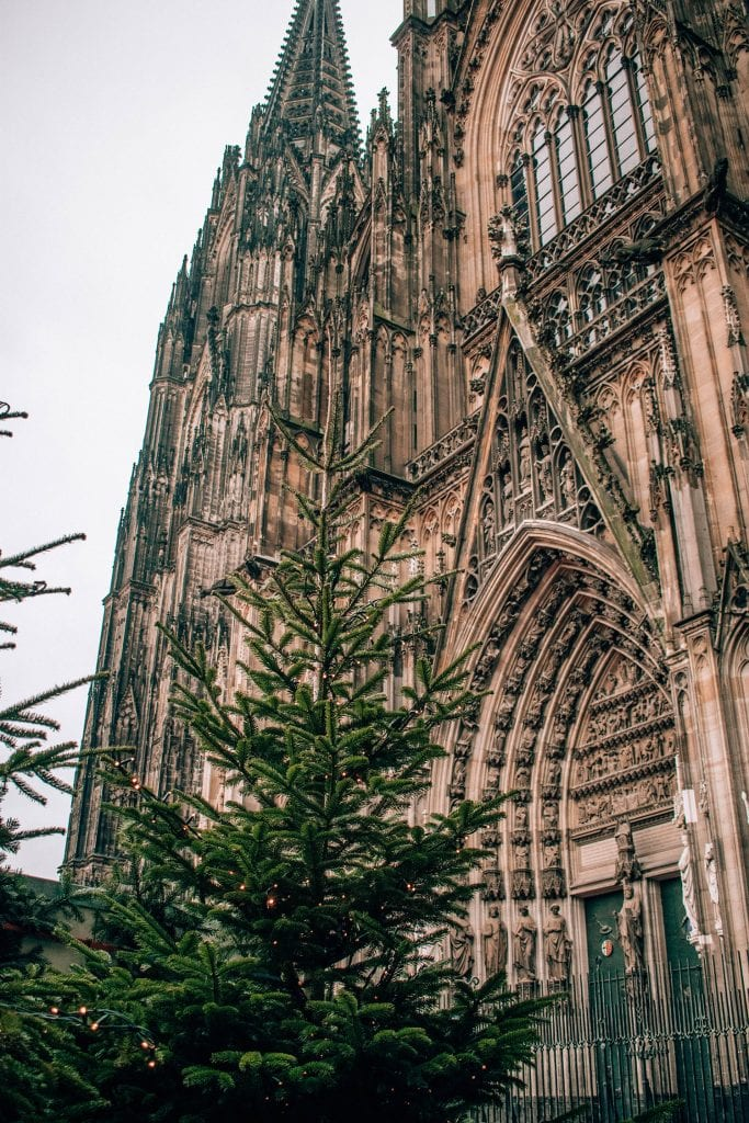 The Kolner Dom in Cologne during the Christmas Markets