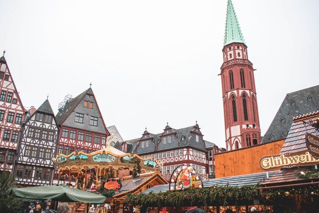 The Frankfurt Christmas Markets in Romerberg