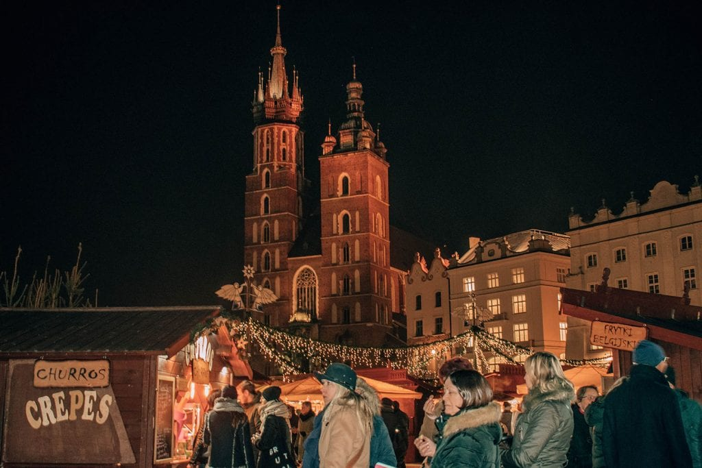 The dreamy Christmas Markets in Krakow