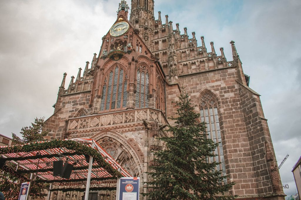 The church in Nuremberg, Germany