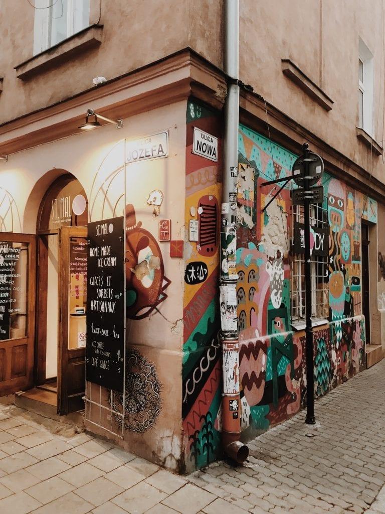 Kazimierz in Krakow, Poland