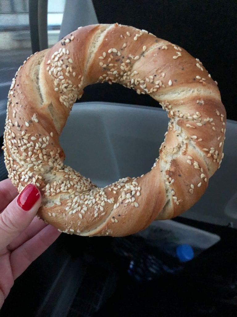 A Polish bagel