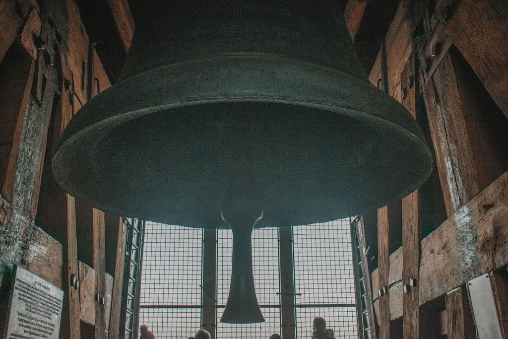 The tower bell in Wawel Cathedral