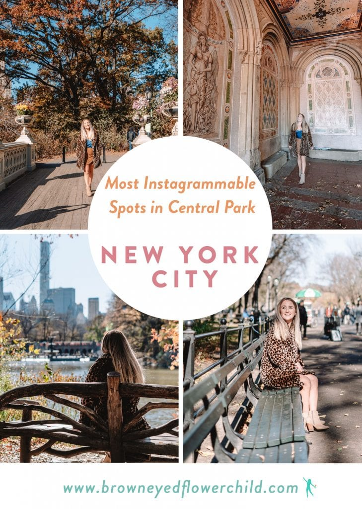 Best Instagram Spots in Central Park, New York City
