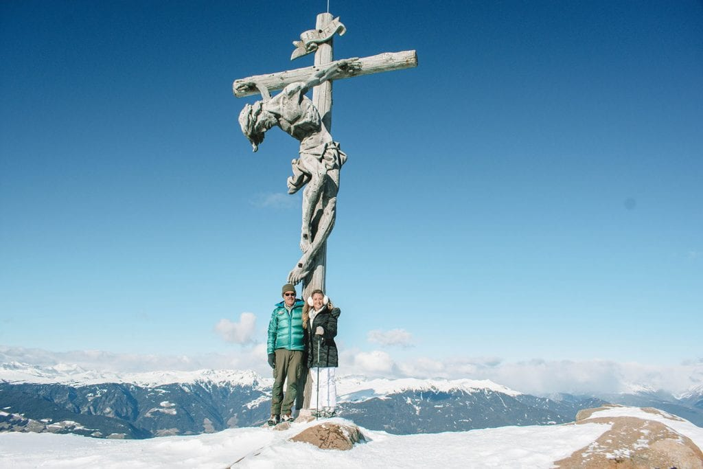 Top things to do in Val Gardena during the winter. The best winter adventure in the Italian Dolomites.
