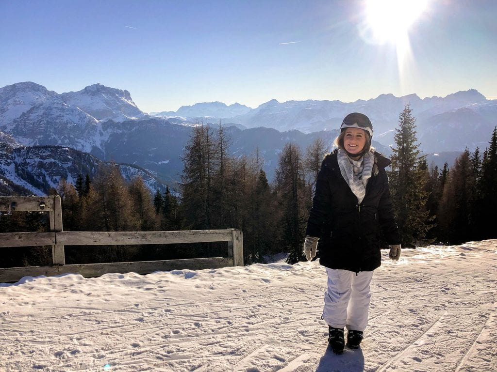 Skiing at Kronplatz in South, Tyrol, Italy. First time skiing in the Italian Dolomites. Everything to know about skiing in the Alps.