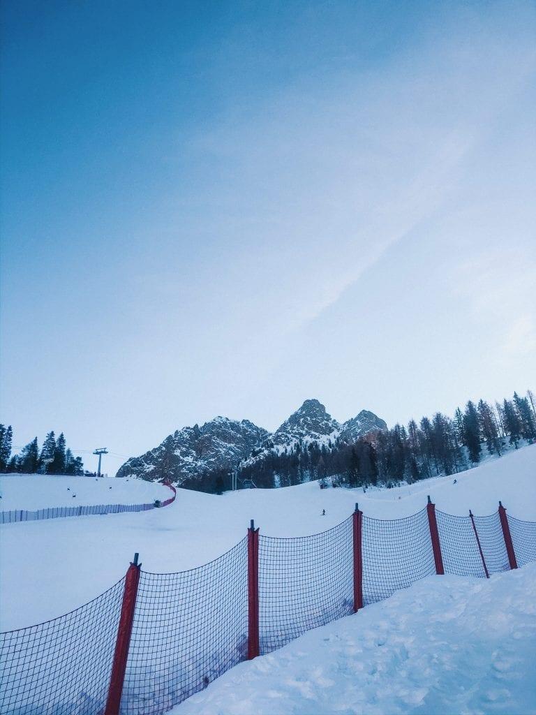 The ski slopes of Kronplatz Plan de Corones