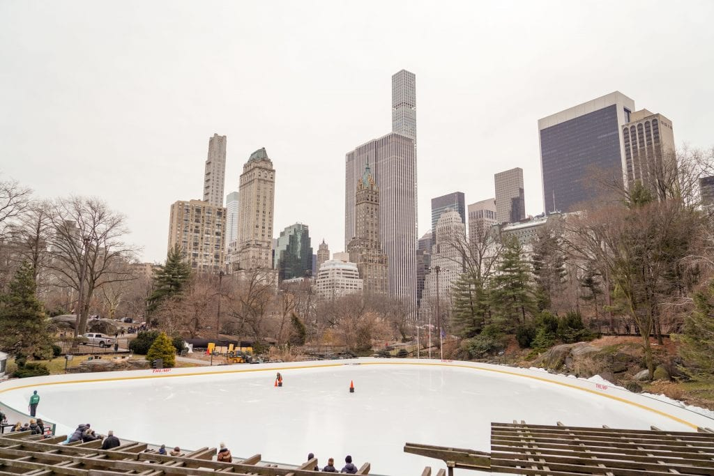 The most Instagrammable spots in Central park, New York City.