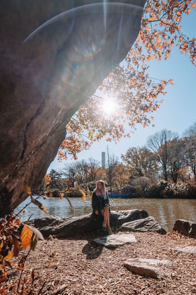 The best Instagram spots during fall in Central Park