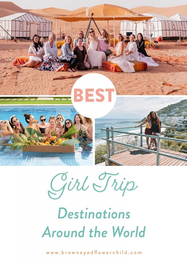 The best girl trip destinations in the world. Discover the top 10 places to experience with your girlfriends.