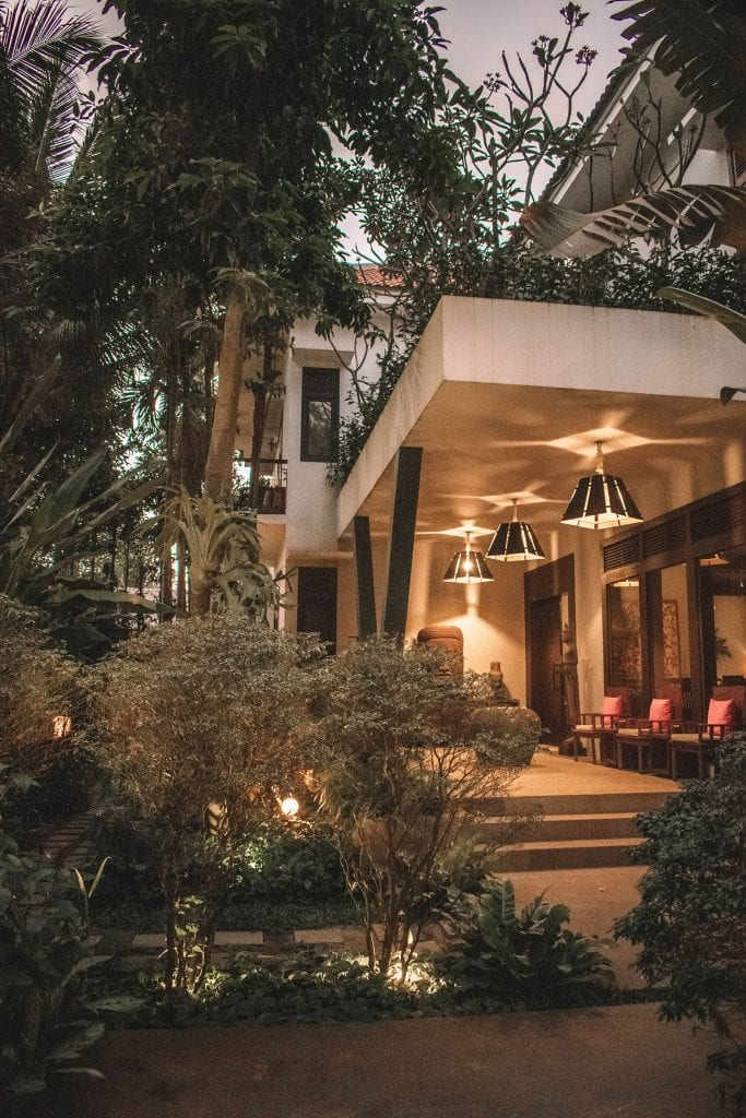 A gorgeous hotel in Siem Reap, Cambodia
