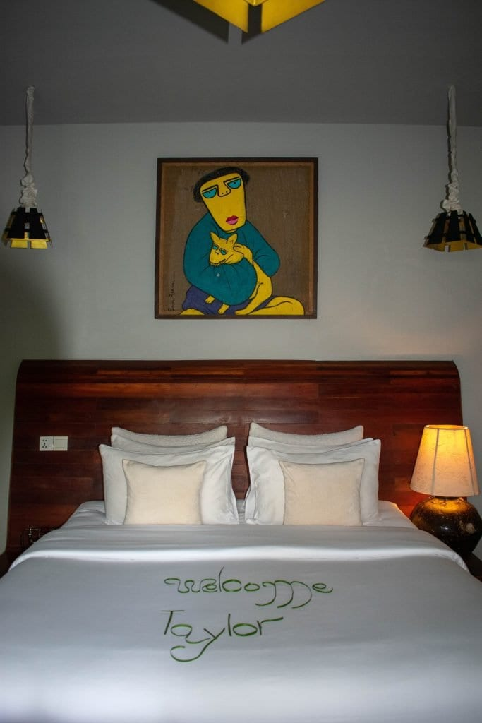 A beautiful boutique hotel room in Siem Reap