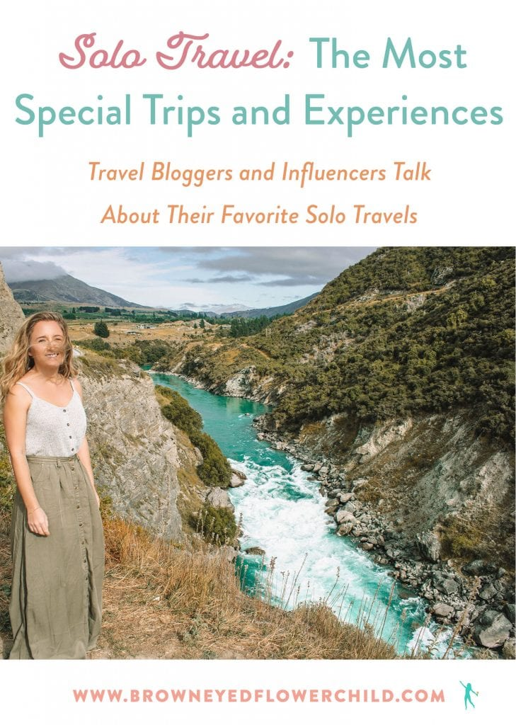 The best solo travel destinations and experiences. Travel bloggers talk about their favorite solo trips.