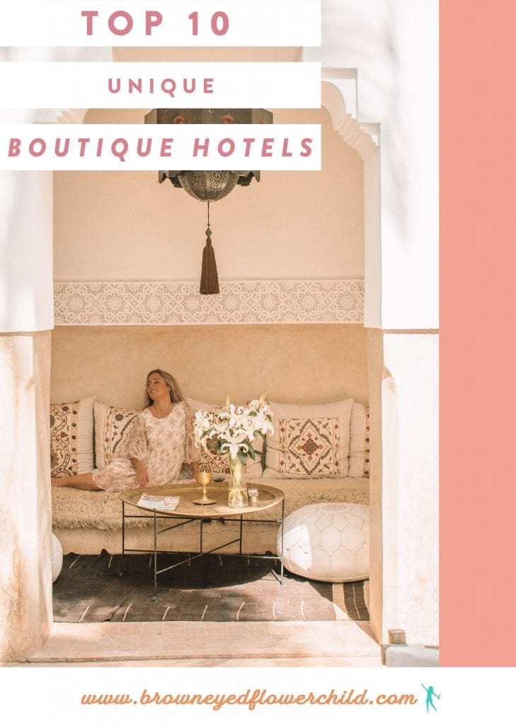 Unique boutique hotels