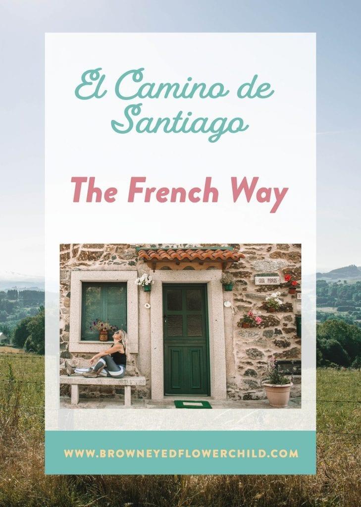 Camino de Santiago Route - The French Way