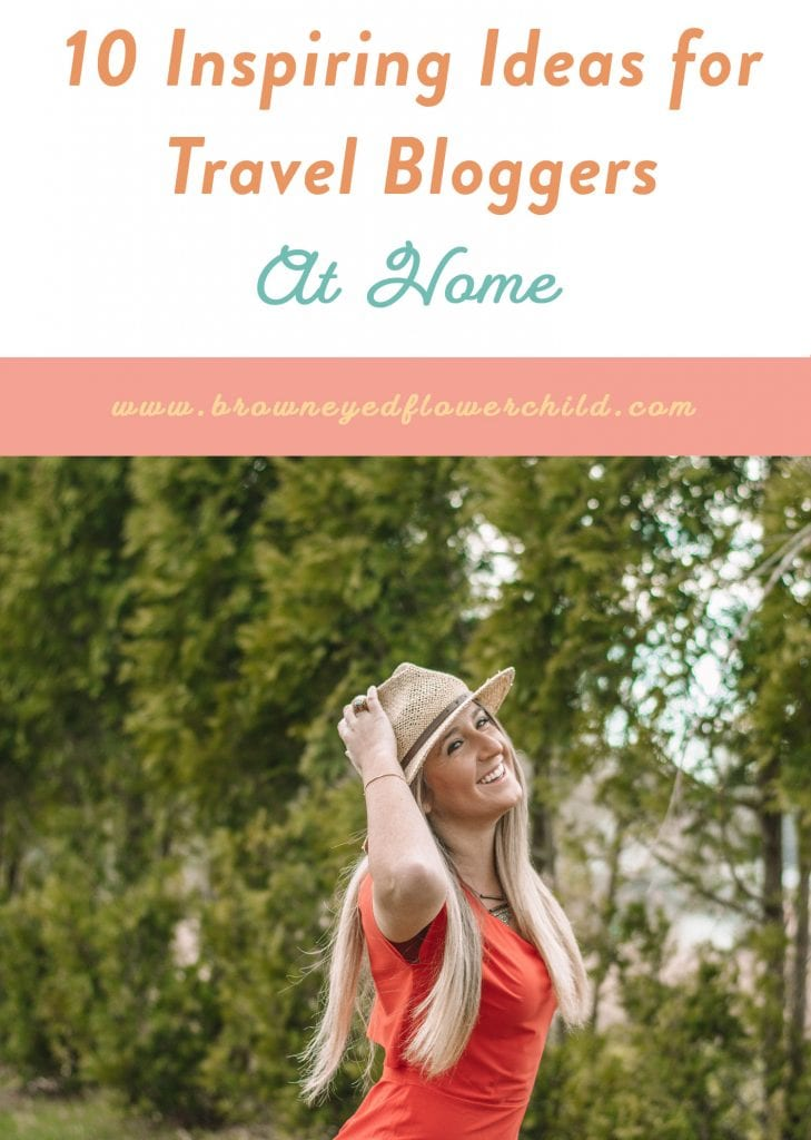 The Perfect Dress for Travel Bloggers at Home