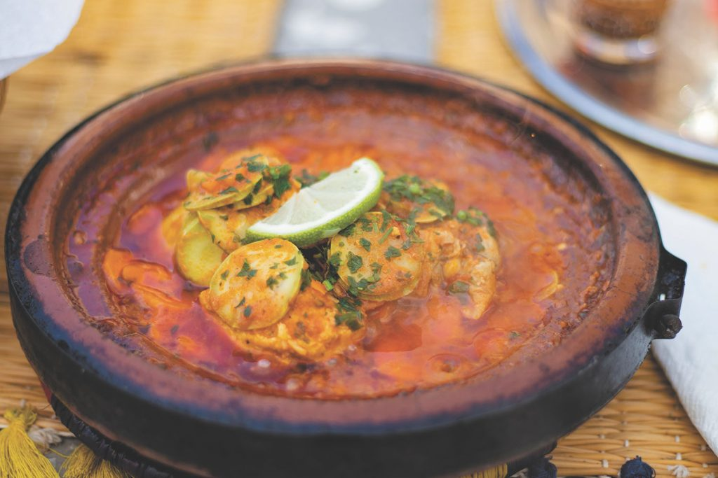 A Maltese fish soup