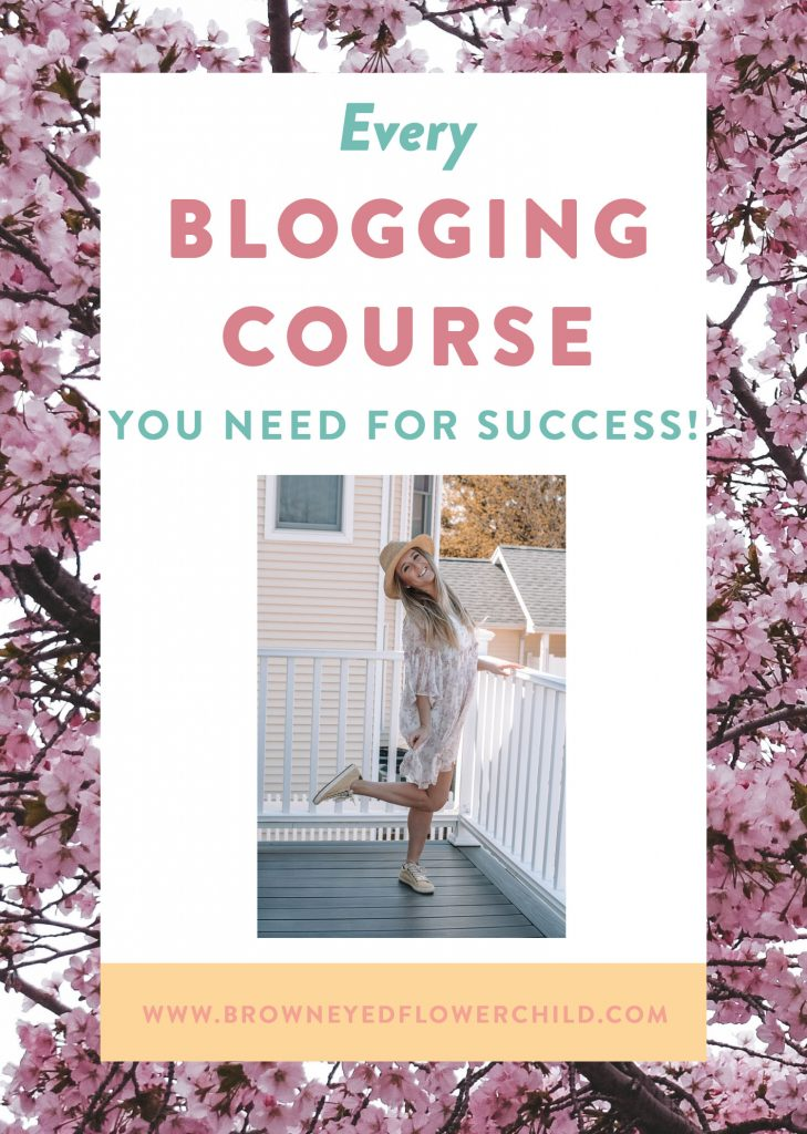 Every blogging course you need for success