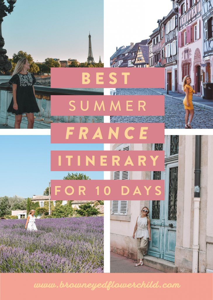 Best Summer France Itinerary for 10 Days