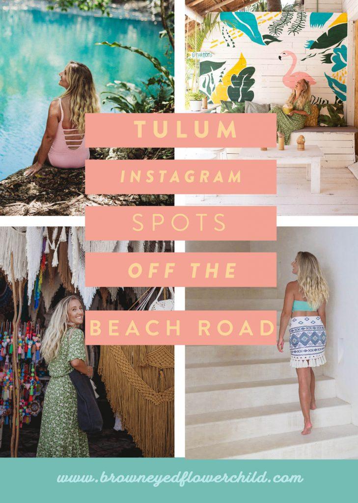 Tulum Instagram spots off the beach road