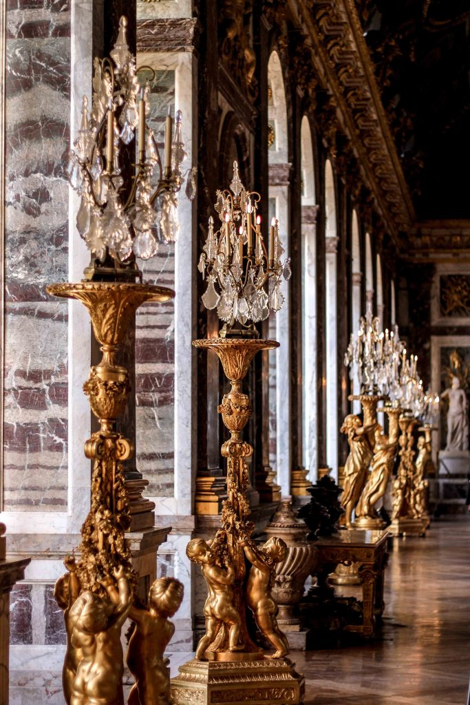 Inside of the Palace of Versailles