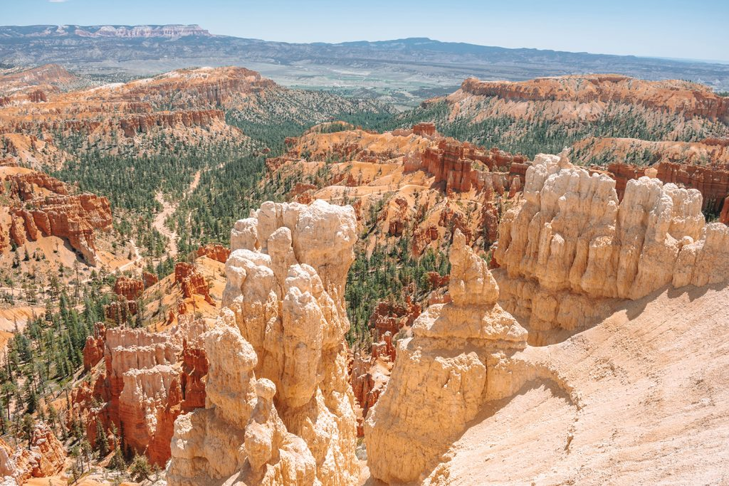 Amazing views from Bryce Canyon in Southern Utah