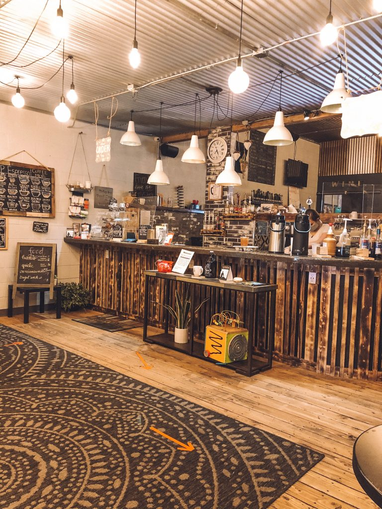 An adorable cafe in Page, Arizona