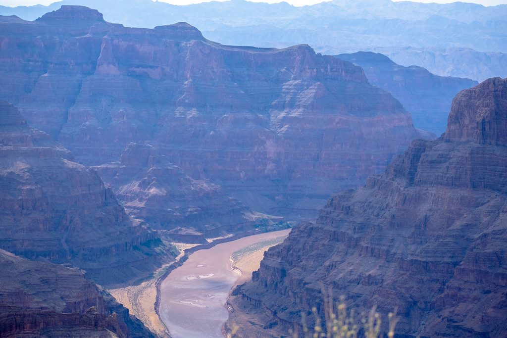 Amazing views of the Grand Canyon and Colorado River