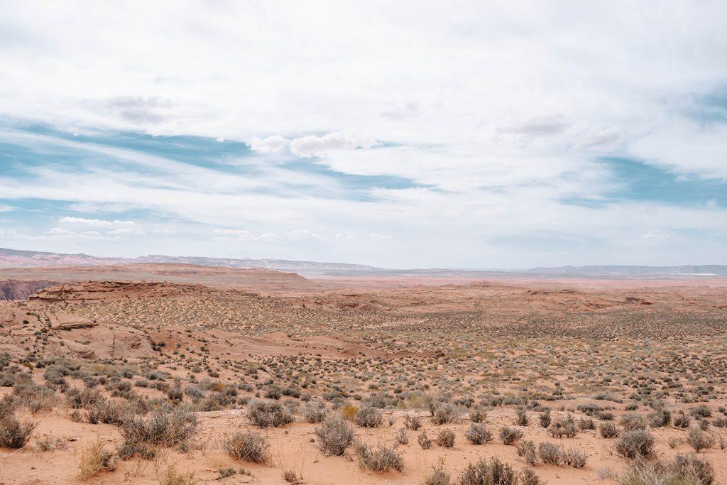 The beautiful Northern Arizona desert
