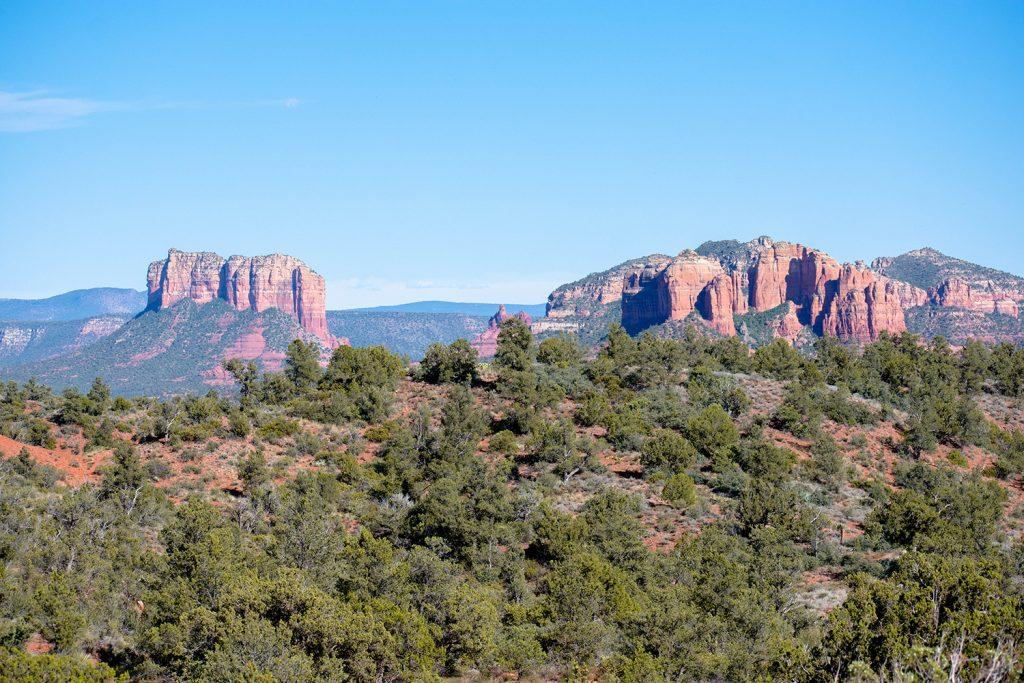 Beautiful red rocks in Sedona, Arizona