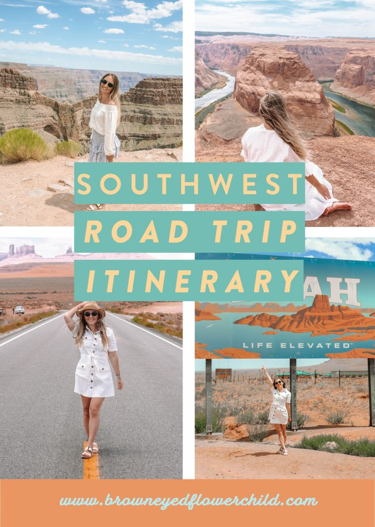 An epic American Southwest Road Trip Itinerary