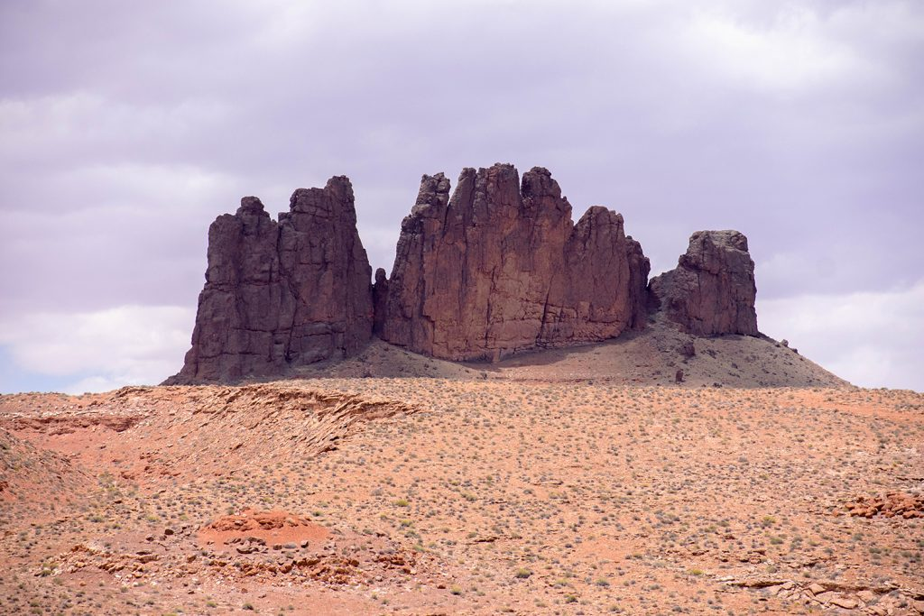 Red rock buttes in Northern Arizona