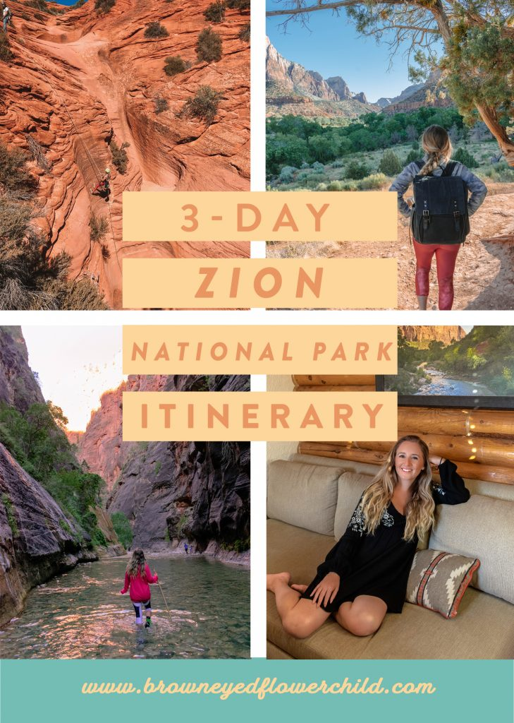 3-Day Zion National Park Itinerary