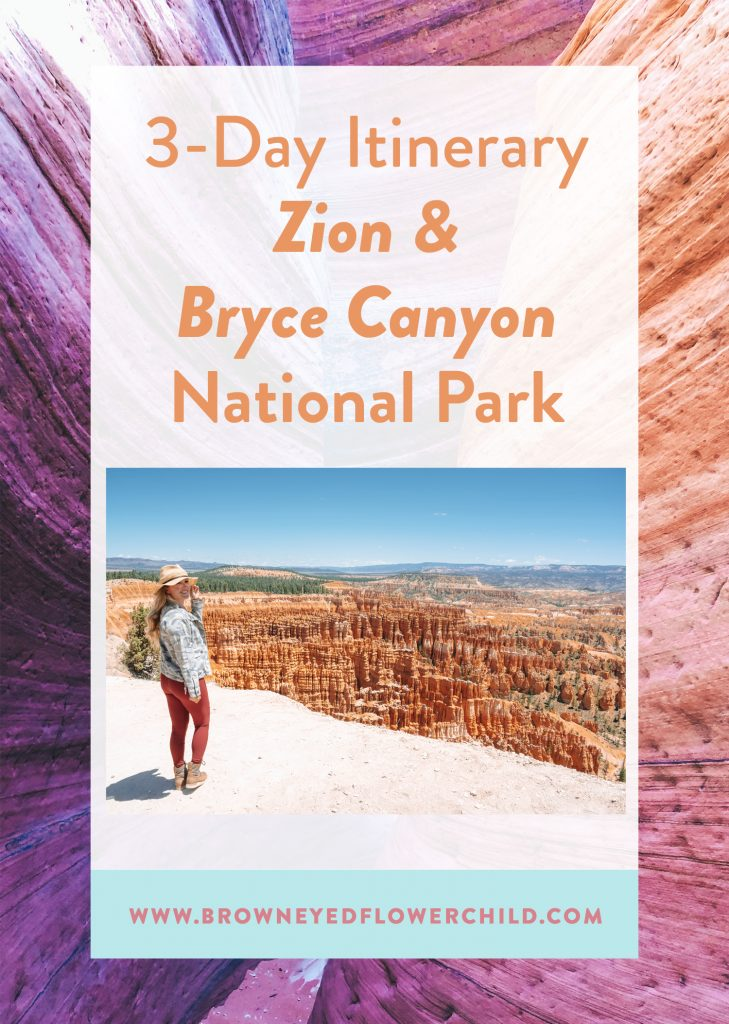 3-Day Itinerary for Zion & Bryce Canyon National Park
