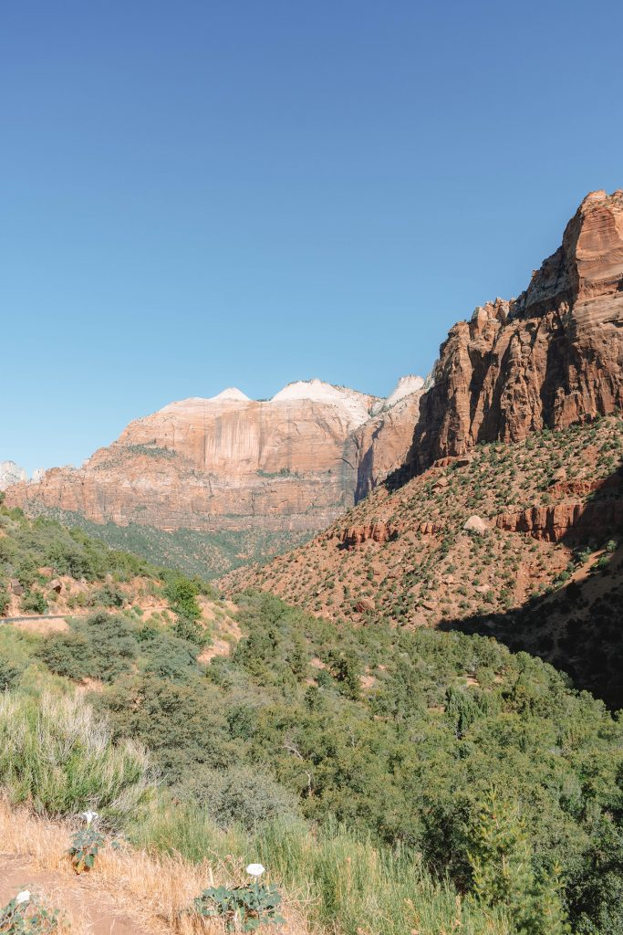 Views from Zion's Scenic Drive