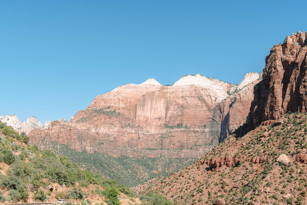 Views from the Zion Canyon Scenic Drive