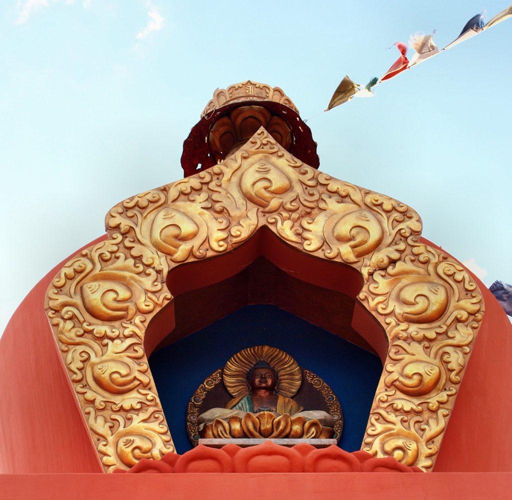 Amitabha Stupa and Peace Park in Sedona