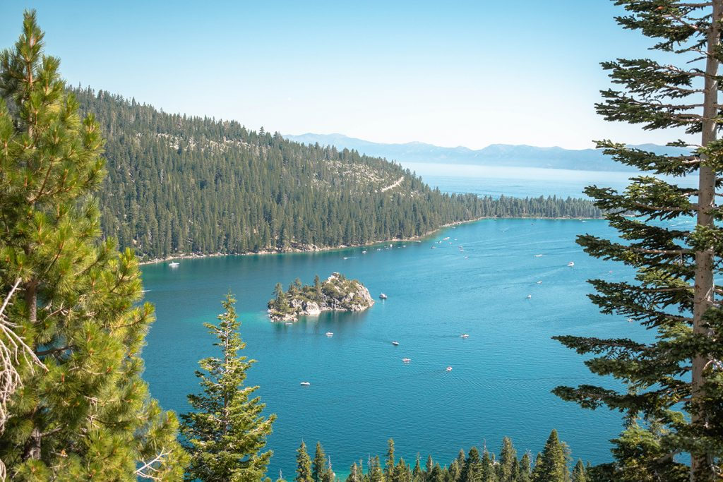 Views of Emerald Bay State Park
